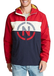 Nautica Hooded Pullover Jacket