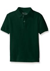 Nautica Husky Boys' Uniform Short Sleeve Pique Polo