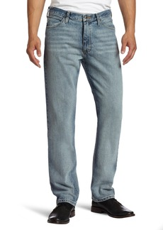 Nautica Jeans Men's Straight Light Cross Hatch Jean  33Wx32L