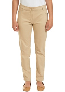 Nautica Juniors Sateen Skinny Pant with Adjustable Waistband