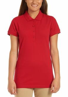 Nautica Juniors Uniform Short Sleeve Pique Polo nautica Red