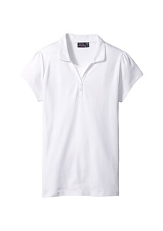 Nautica Girls Plus Short Sleeve Polo with Cami (Big Kids)