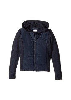 Nautica Quilted Hoodie Sweater (Little Kids)