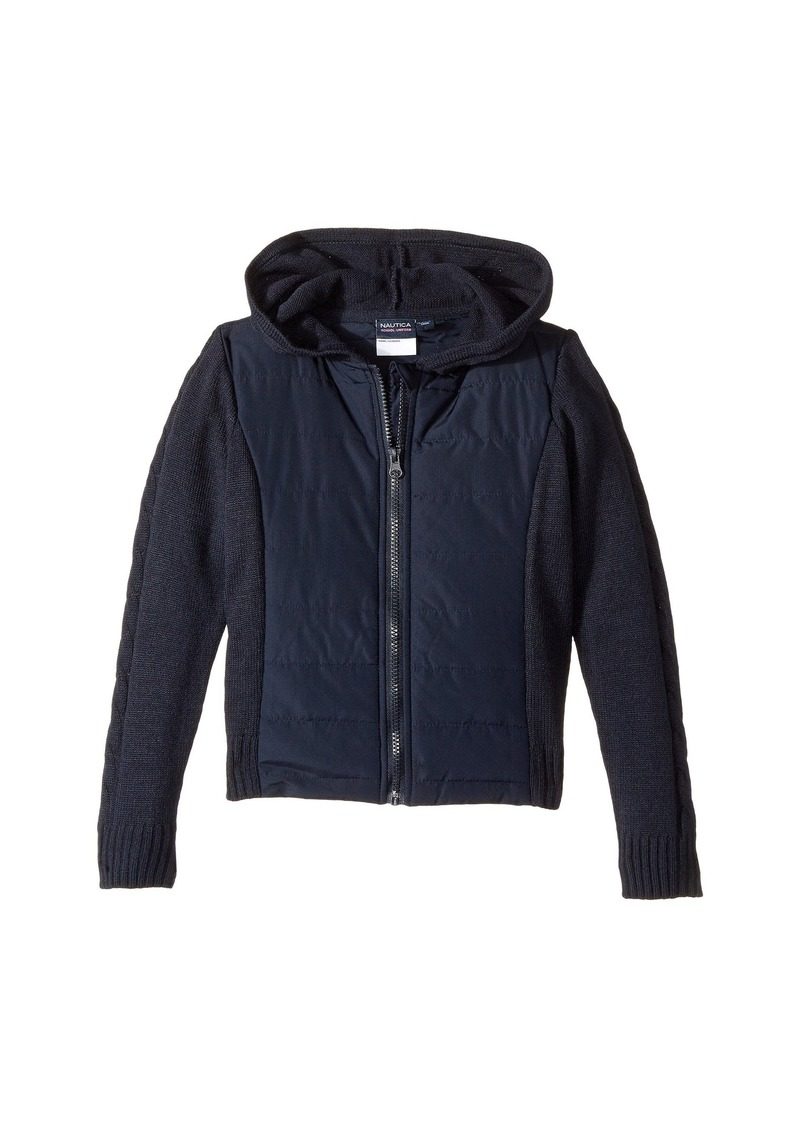 c31cdefa Nautica Quilted Hoodie Sweater (Little Kids)