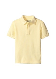 Nautica Short Sleeve Pique Polo (Big Kids)