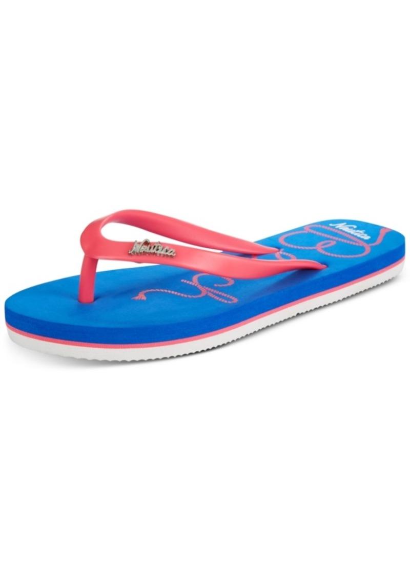Nautica Little & Big Girls Jeyda Flip-Flops