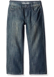 Nautica Little Boys 5-Pocket Straight Fit Jeans  0