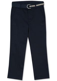 Nautica Big Boys Belted Twill Pants