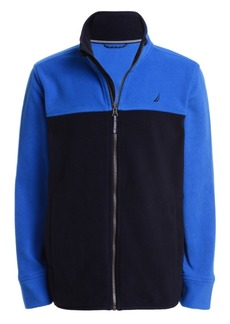 Nautica Little Boys Colorblock Fleece Jacket
