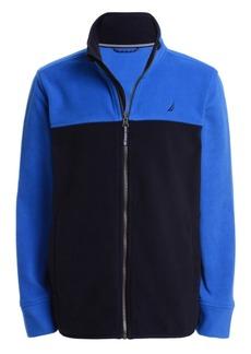 Nautica Little Boys Colorblock Fleece Jacket