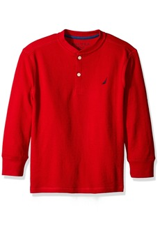 Nautica Little Boys Covert Long Sleeve Henley Tee
