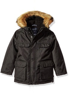 Nautica Little Boys Expedition Parka Black X-Large/7X