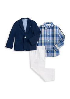 Nautica Little Boy's Four-Piece Jacket, Shirt, Bow Tie and Pants Set