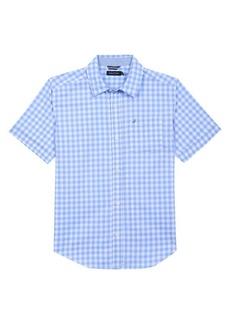 Nautica Little Boy's Gingham Button-Down Shirt