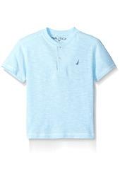 Nautica Little Boys' Hero Solid Henley Tee Shirt