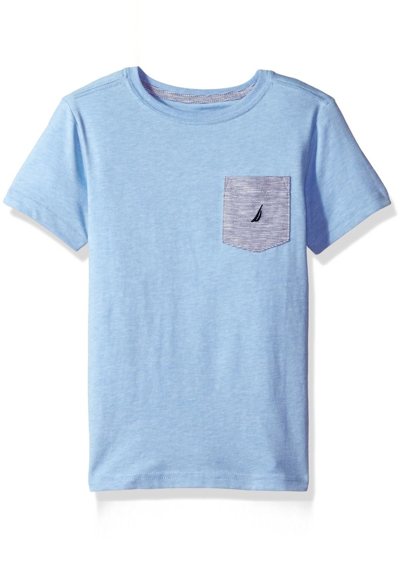 Nautica nautica little boys 39 jersey pocket tee shirt small for Nautica shirts on sale