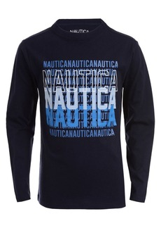 Nautica Little Boy's Long Sleeve Graphic Tee