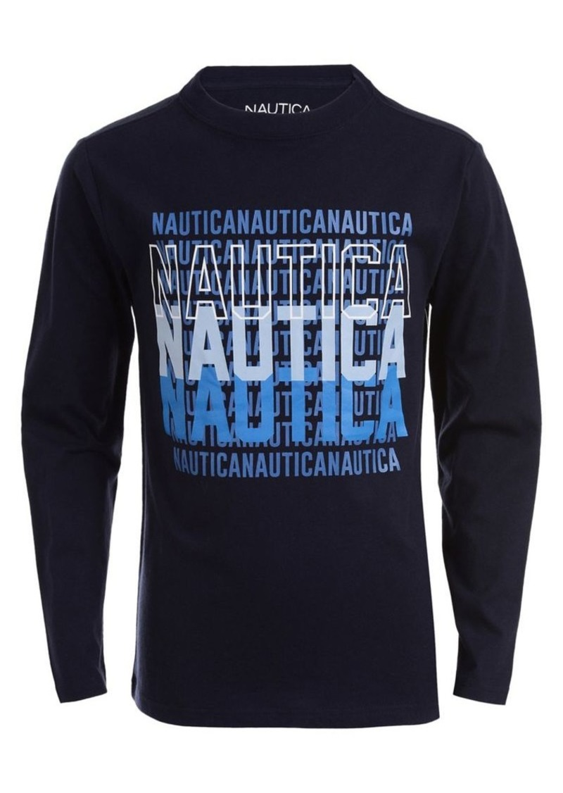 Nautica Little Boy's Long Sleeve Graphic Tee