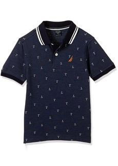 Nautica Little Boys Short Sleeve Delta Anchor Polo Sport Navy /7