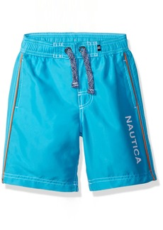 Nautica Little Boys' Swim Trunk with UPF 50+ Sun Protection