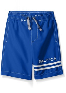 Nautica Little Boys' Swim Trunk with UPF 50+ Sun Protection  Small (4)