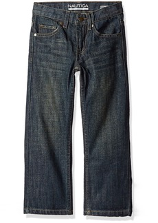 Nautica Little Boys' Toddler 5-Pocket Straight Fit Jeans