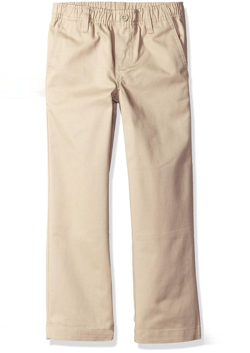 Nautica Little Boys' Uniform Elastic Waist Pull-On Twill Pant  Small/4