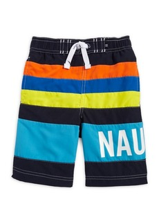 Nautica Little Boy's Zachary Swim Trunks