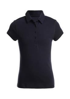 Nautica Little Girl Sensory Short Sleeve Polo