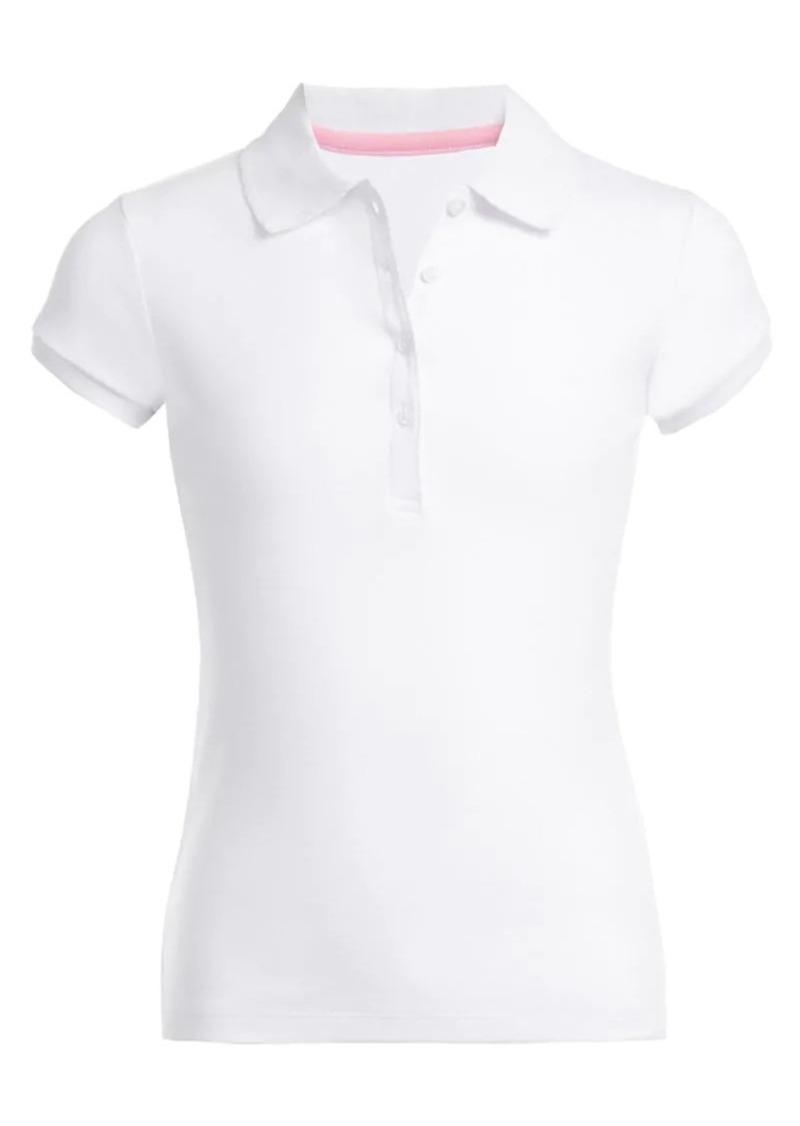 Nautica Little Girl's Cotton-Blend Polo