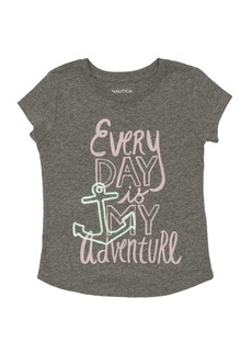Nautica Girls' Little Every Day Graphic Tee