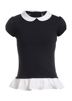 Nautica Little Girls Layered-Look Top