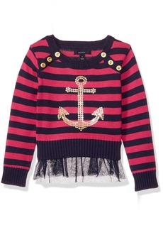 Nautica Little Girls' Long Sleeve Fashion Sweaters