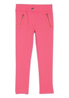 Nautica Little Girls' Printed Mini Dot Knit Pant  6X