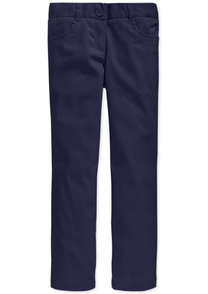 Nautica Little Girls School Uniform Stretch Bootcut Pants