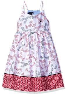 Nautica Little Girls' Seersucker Print Dress