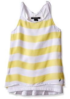 Nautica Girls' Sleeveless Fashion Tank Top Shirt  4