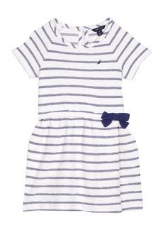 Nautica Little Girls' Stripe Terry Dress