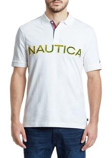 Nautica Logo Classic-Fit Cotton Polo