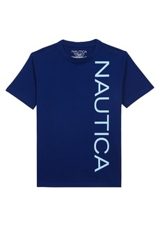 Nautica Logo Screen T-Shirt