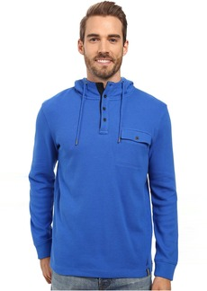 Nautica Long Sleeve Hooded Henley