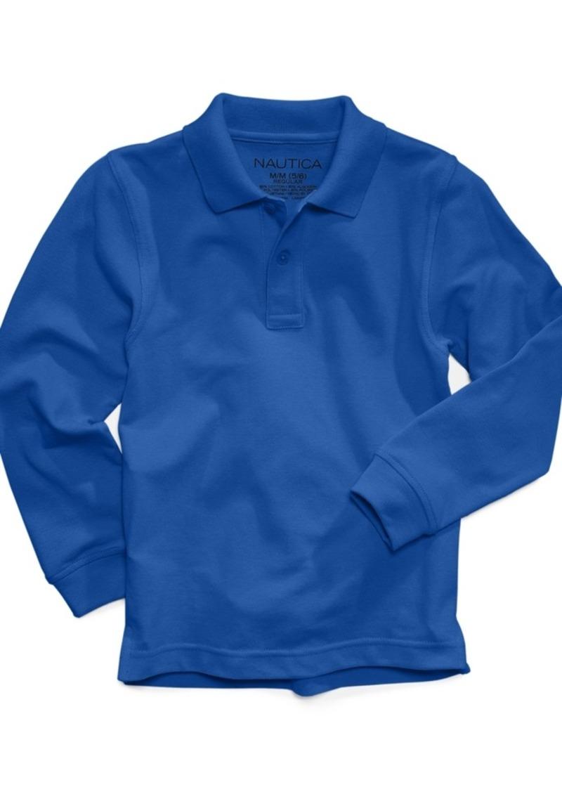 School Uniform Long Sleeve Polo Shirts Lauren Goss