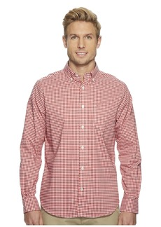Nautica Long Sleeve Wear to Work Gingham Shirt