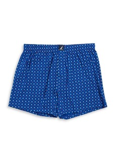 Nautica Plaid Cotton Boxer Shorts