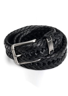 Nautica Men's  1 1/4 in. Braided Belt