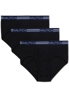 Nautica Men's 3-Pk. Cotton Briefs