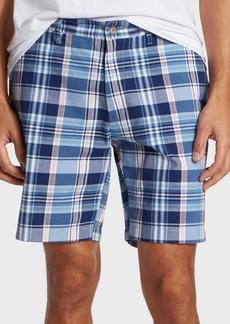 "Nautica Men's 8.5"" Classic-Fit Plaid Shorts"