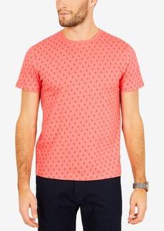 Nautica Men's Big & Tall Anchor-Print Cotton T-Shirt