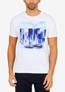 Nautica Men's Artist Series Skyline Graphic-Print T-Shirt