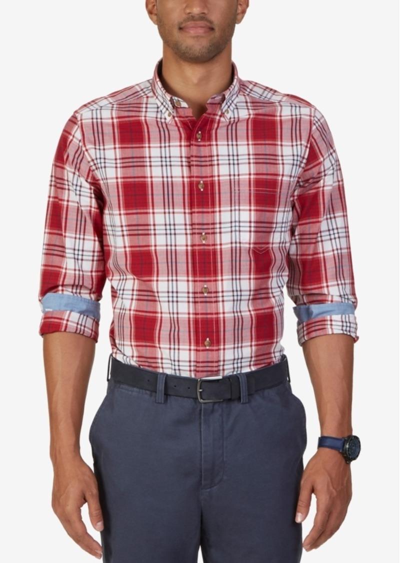Nautica Men's Arturo Plaid Long-Sleeve Shirt